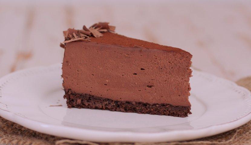 Шоколадный чизкейк творога рецепт с фото