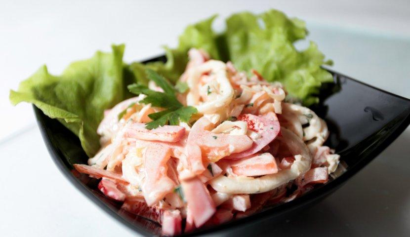 Самые красивые салаты фото и рецепты