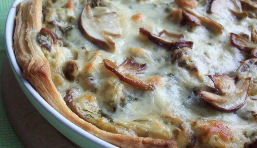 Пирожки с грибами и курицей в духовке пошаговый рецепт