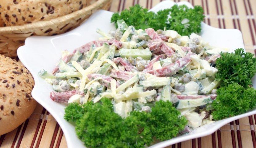 Лёгкие салаты рецепты на быструю руку