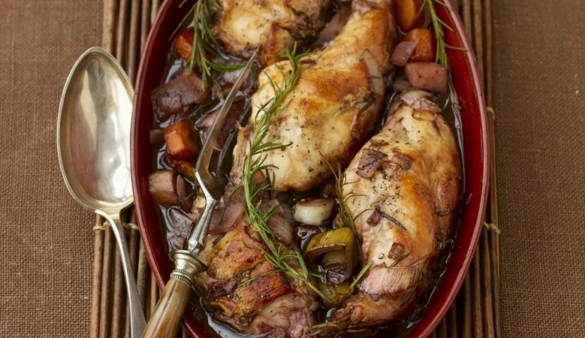 Блюда из кролика рецепты с фото легкие