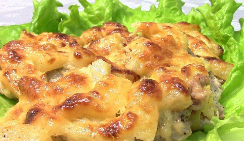 курица с ананасами и с картошкой в духовке рецепт