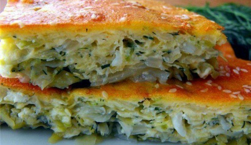 Быстрый рецепт пирожков с капустой