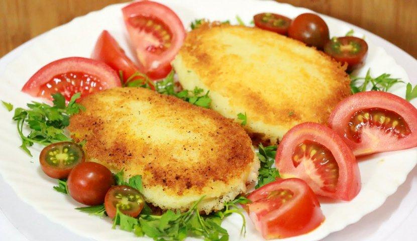 Зразы картофельные с курицей рецепт с фото