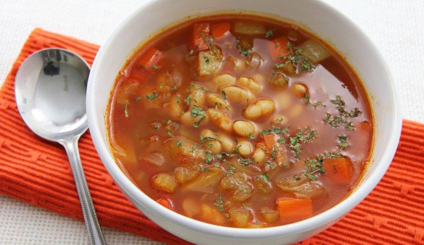 Суп постный фасолью рецепты с фото