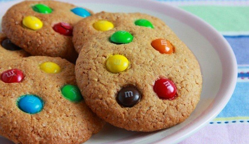 Печенье с ммдемсом рецепт