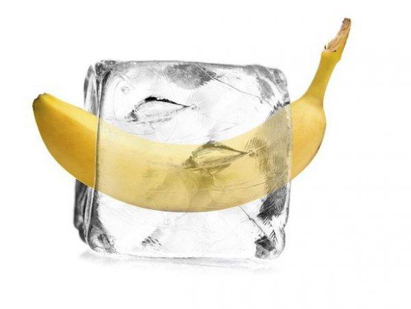 Замразете бананите