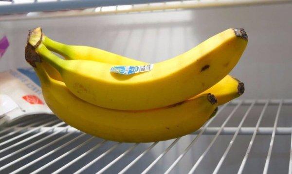 Съхранявайте бананите в хладилника или не